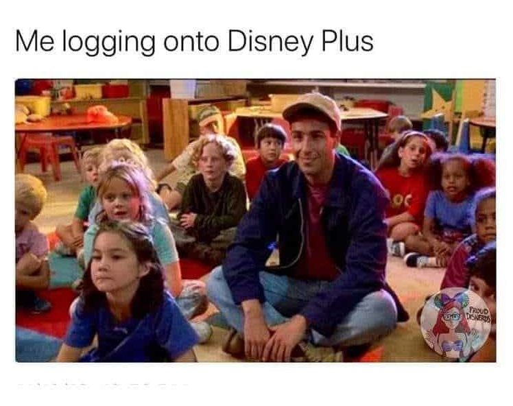 Image result for disney plus meme""