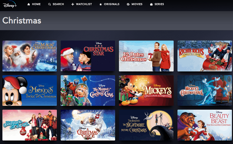 List of all the Disney Christmas movies on Disney Plus