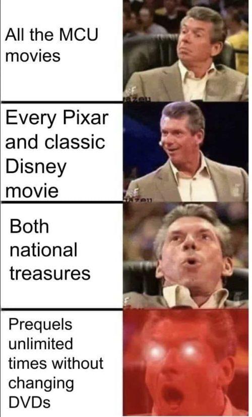 Disney Plus Vince McMahon funny memes