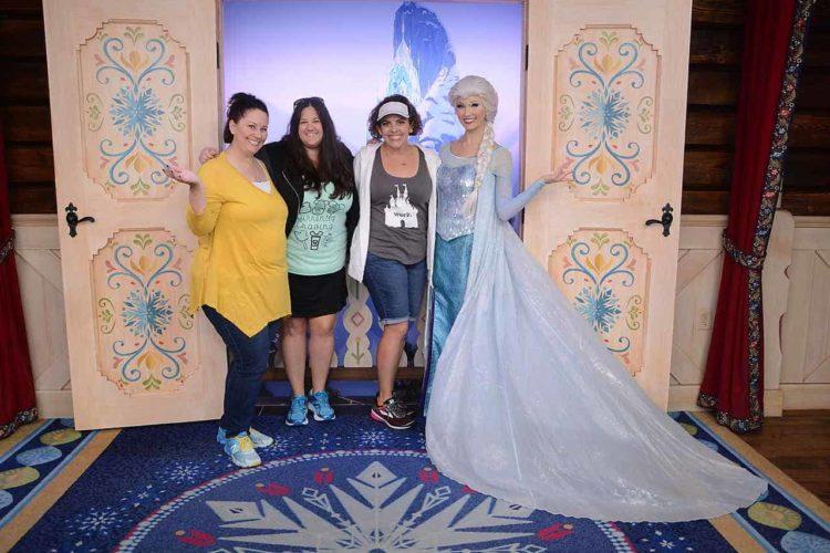 Frozen meet and greet with elsa at walt disney world