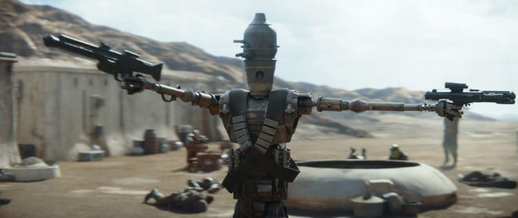 The most bad ass quotes from The Mandalorian on Disney Plus IG-11 bounty droid