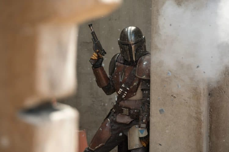 the mandalorian on disney plus treadmill