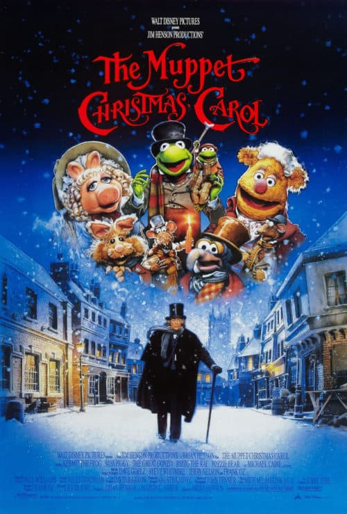 Christmas movies on Disney Plus includes Muppets Christmas Carol movie poster