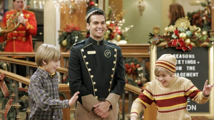 The Suite Life of Zac and Cody Christmas Episode on Disney Plus