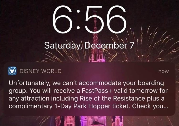 How to ride rise of the resistance at Disney World without a FastPass