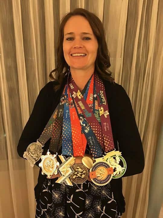 runDisney Dopey medals