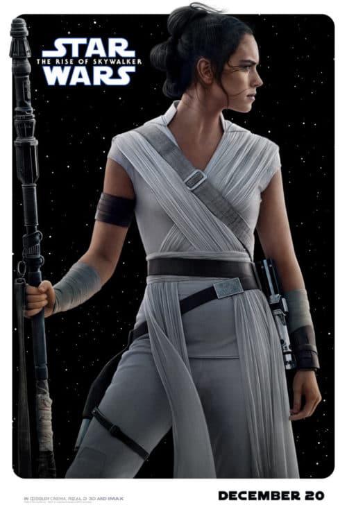 Rise of Skywalker Rey Poster