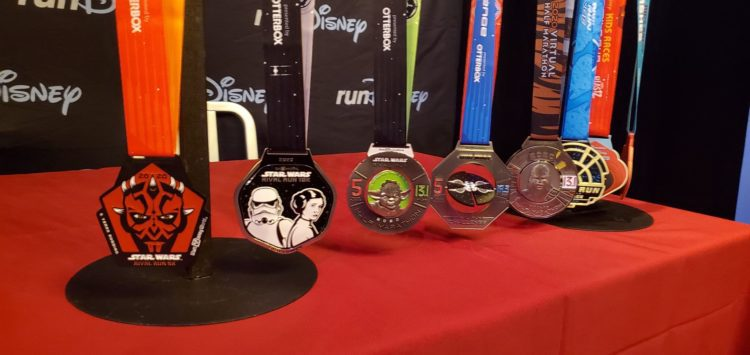 runDisney 2020 Star Wars Rival Run Medals what happens to the medals when runDisney cancels a race?