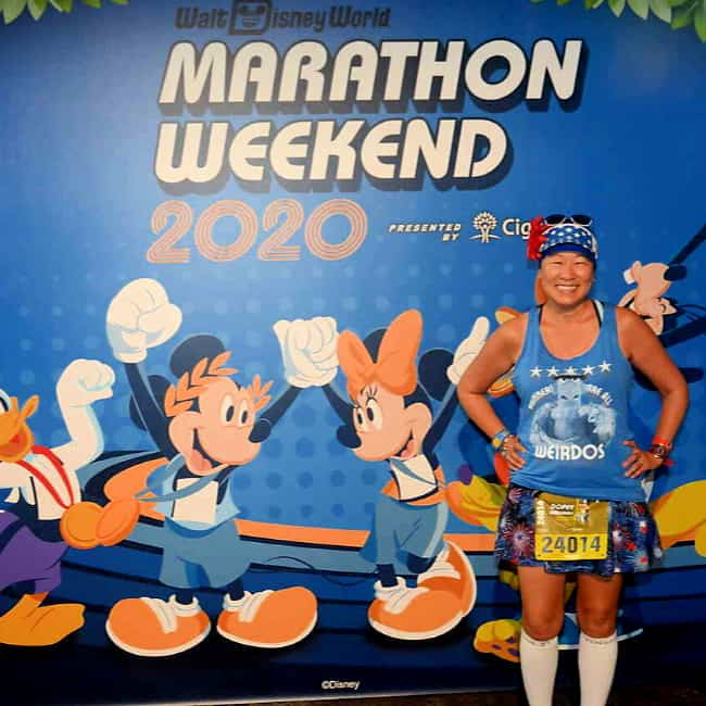 rundisney runners square review photo opp