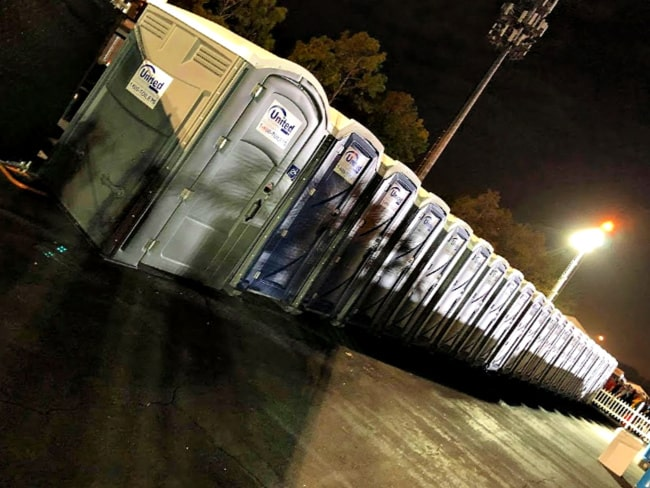 runners square port a potties