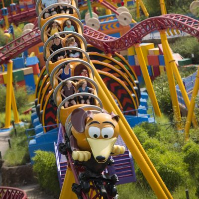 Slinky Dog Dash in Toy Story Land