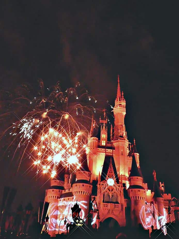 2020 Mickeys not so scary halloween party tickets Halloween fireworks at Cinderella Castle