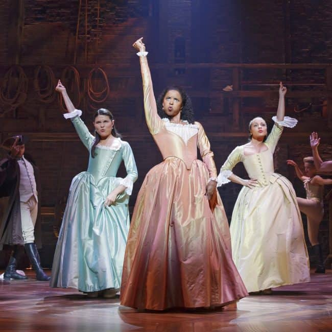 Hamilton the Movie coming to theaters Disney Studios The Schuyler Sisters