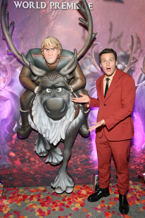 "World Premiere Of Disney's ""Frozen 2"" Jonathan Groff"