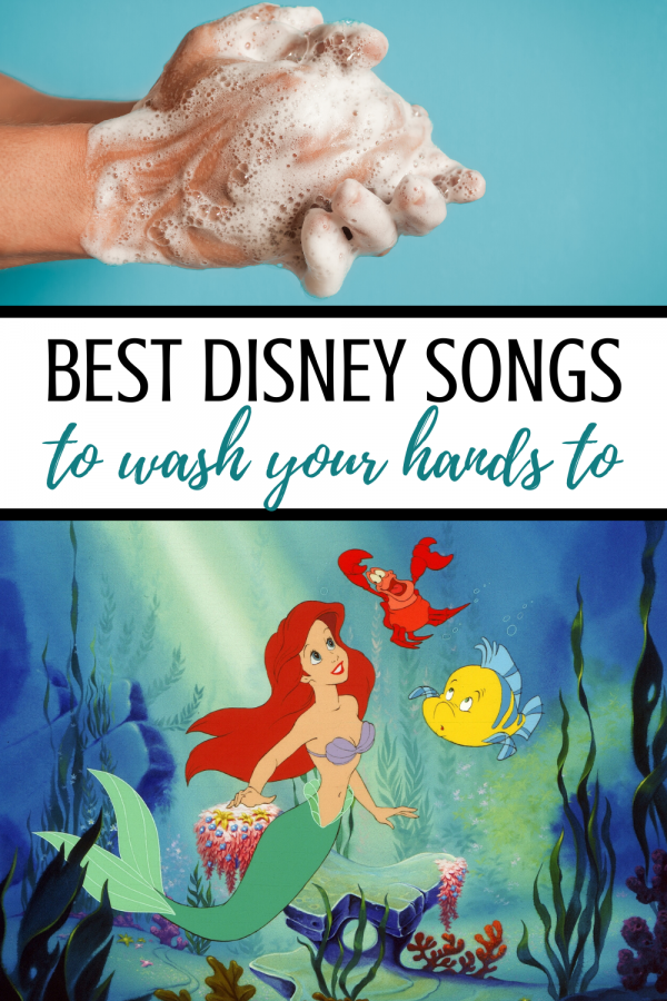 best disney songs to wash your hands to fight germs