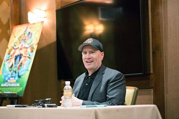 Kevin Feige at Thor Ragnarok press conference.