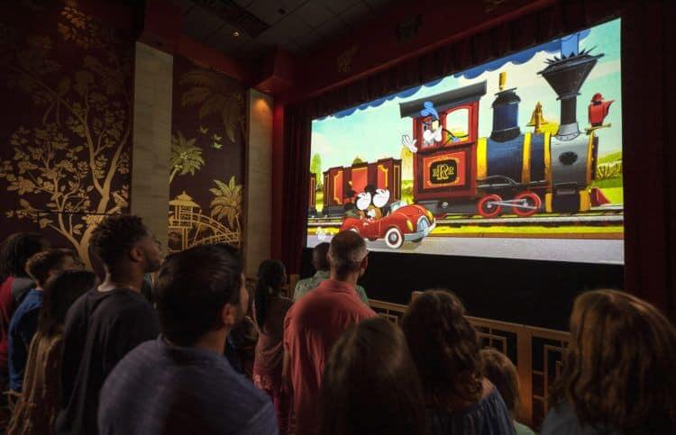 Mickey and minnies railway preshow