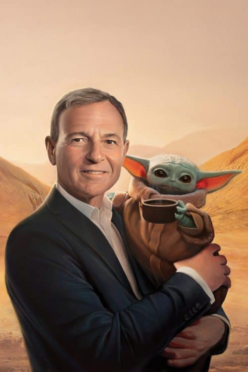 Bob Iger and Baby Yoda Times Man of the Year