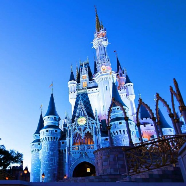 virtual field trip and virtual vacation to Disney World Magic Kingdom