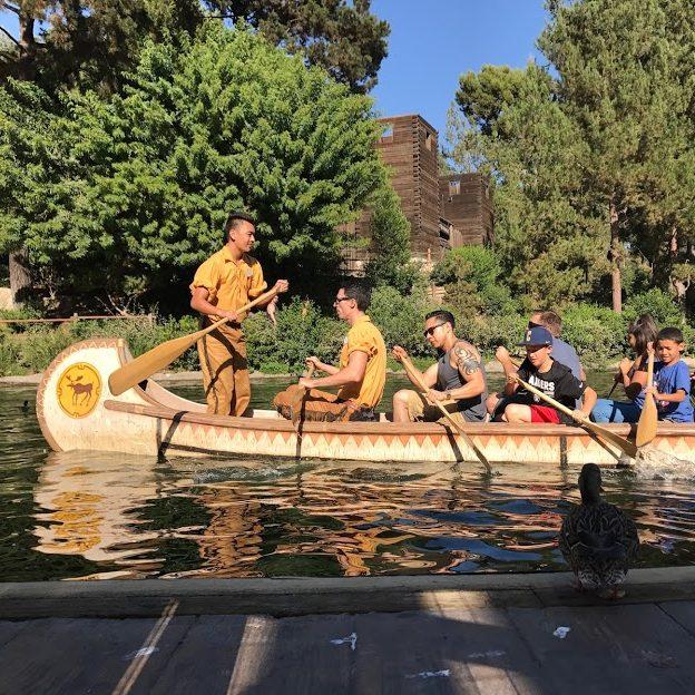 Disneyland Canoes