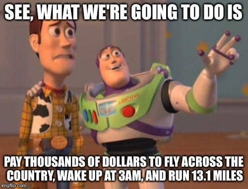 buzz and woody what were going to do today rundisney meme