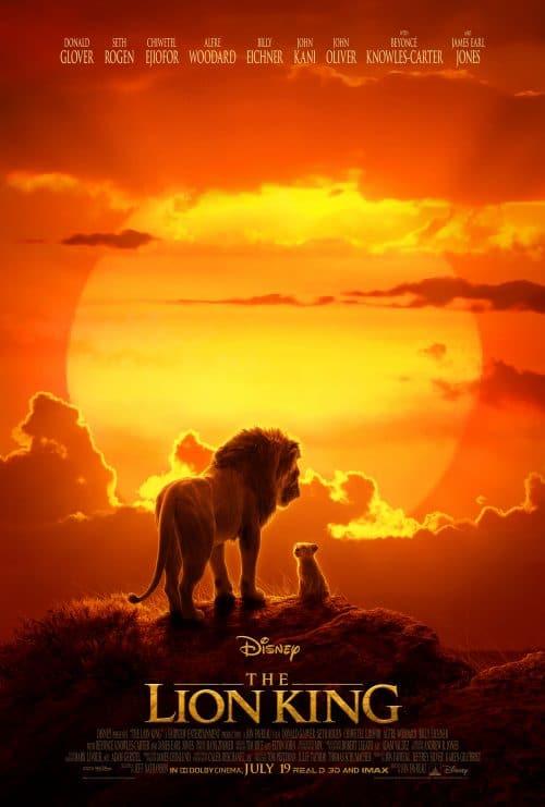the lion king poster movie watchlist on Disney Plus