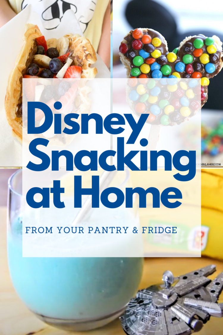 Disney foods from your pantry you can make at home