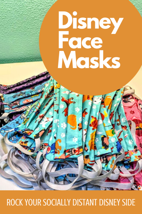 custom surgical style Disney face masks