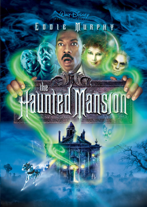 haunted mansion movie poster on Disney plus watchlist