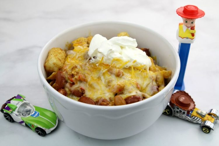 homemade totchos recipe Disney food from your pantry
