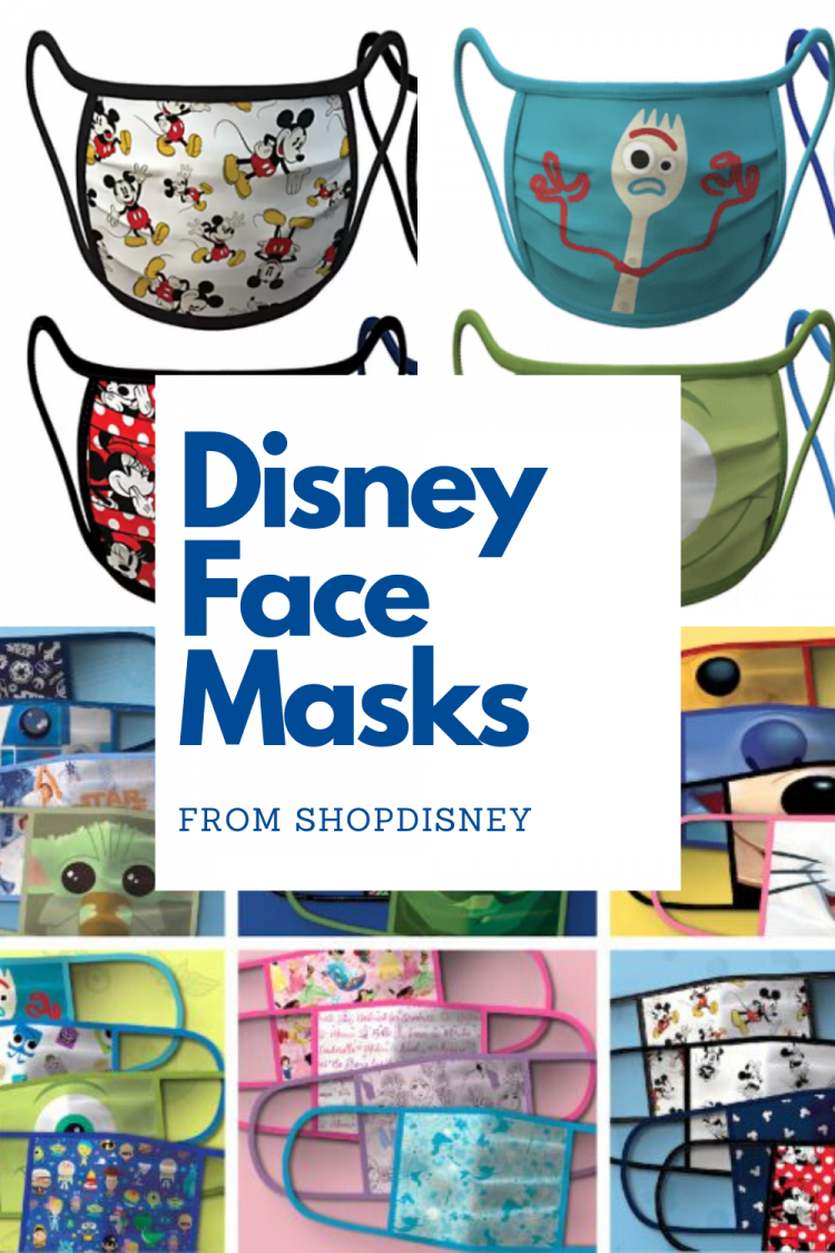 official disney face masks from shopdisney