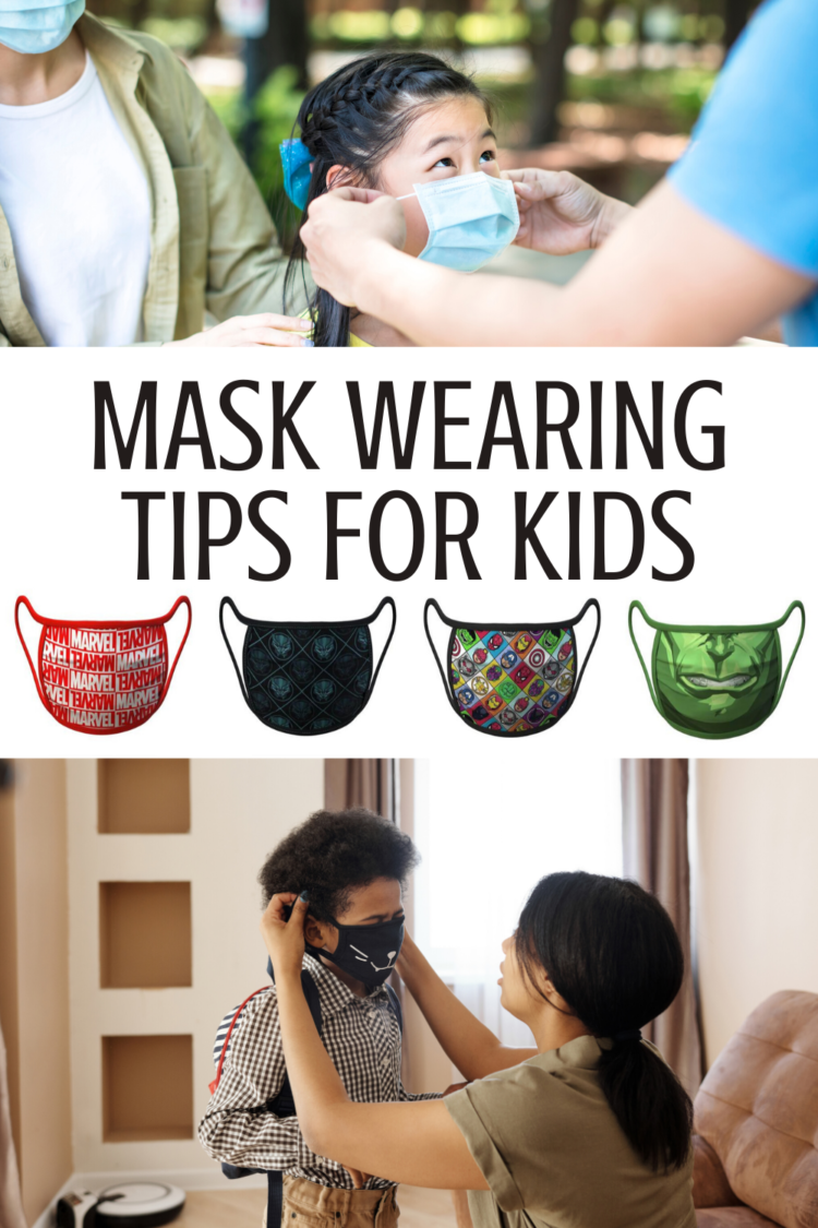 mask wearing tips for kids