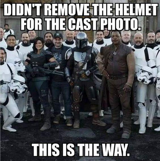 funny star wars meme the mandalorian