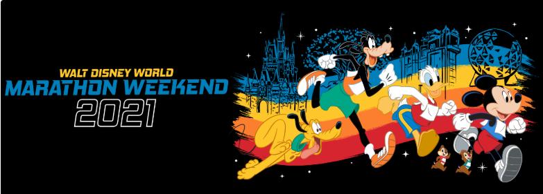 runDisney marathon weekend 2021 artwork