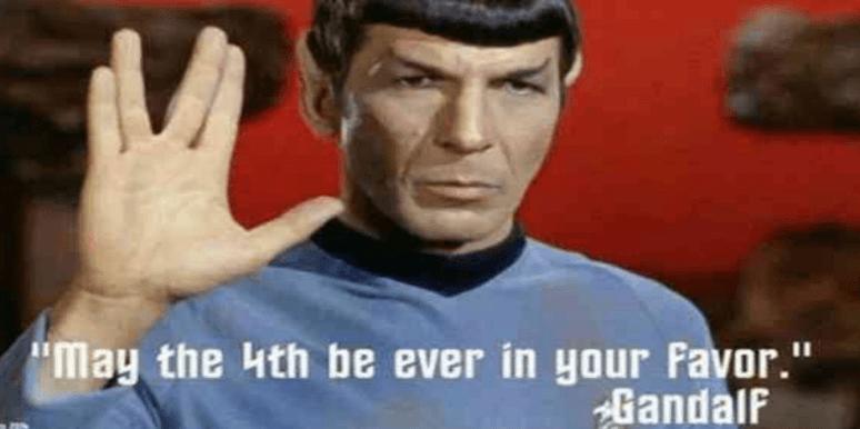 Star trek May the 4th Star Wars memes