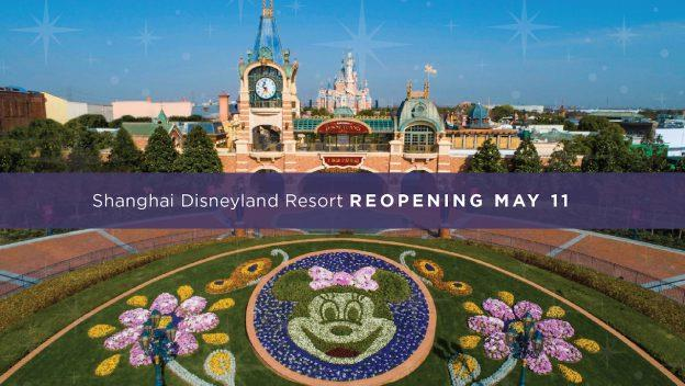 Shanghai Disneyland Resort Reopening May 11