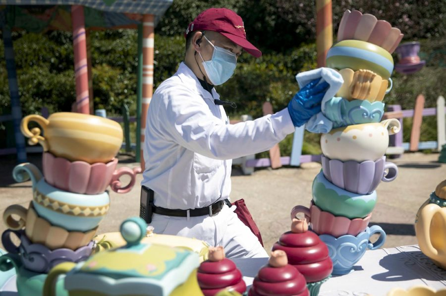 Disneyland Shanghai cleaning process opening announced