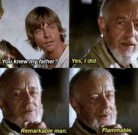 New Hope Star Wars Meme Luke and Obi Wan
