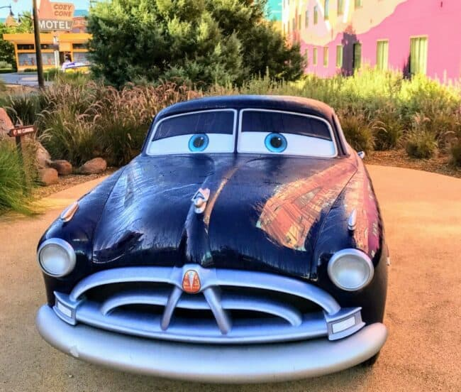 Art of Animation Cars-section-Doc-Hudson