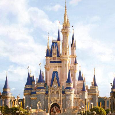 make it pink! Cinderella Castle Makeover