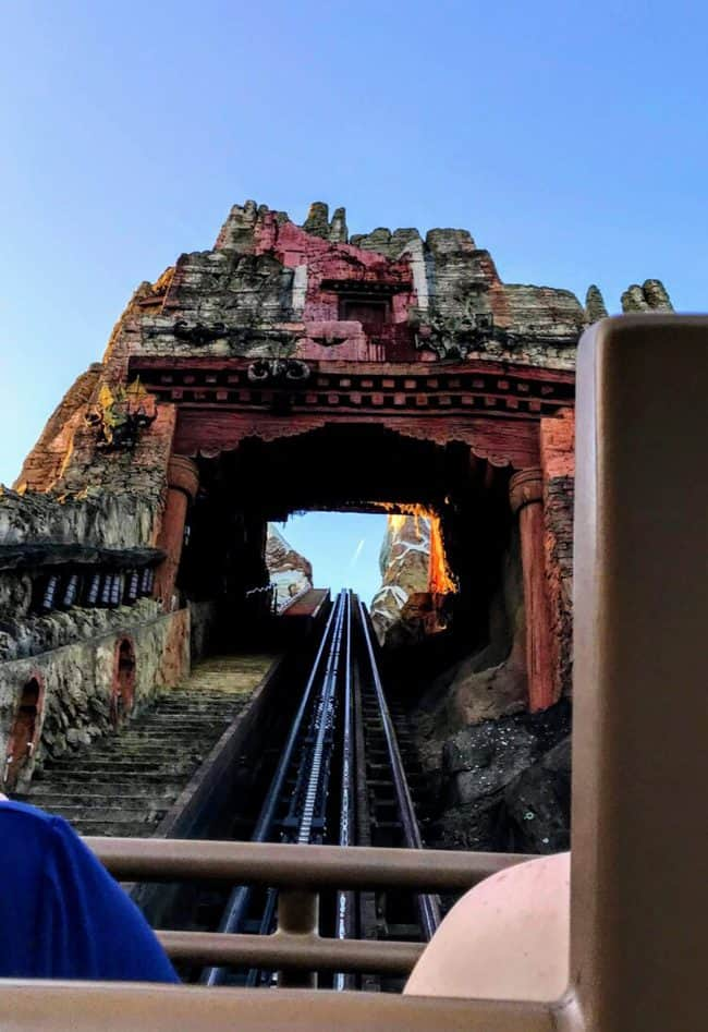 Expedition Everest on ride POV
