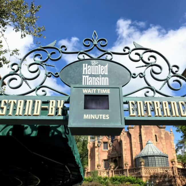 haunted mansion wait time welcome home cast member video