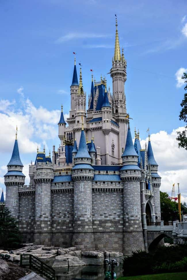 Cinderella Castle in the Magic Kingdom what attractions will be closed
