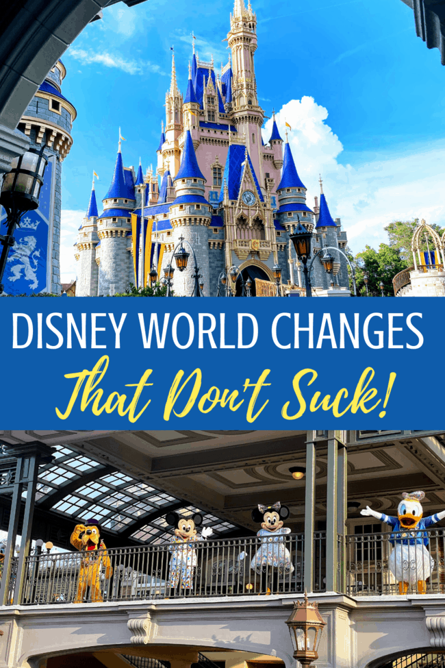 Disney World Changes that don't suck! Things Disney should keep forever.