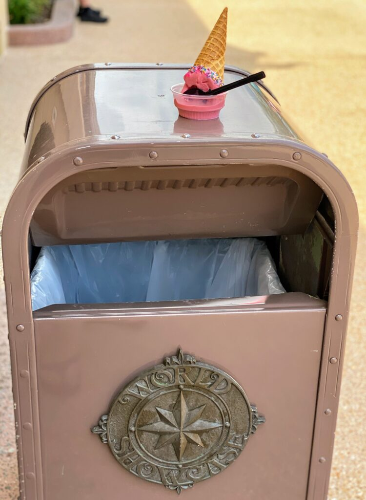changes at walt Disney world we love like open trashcans