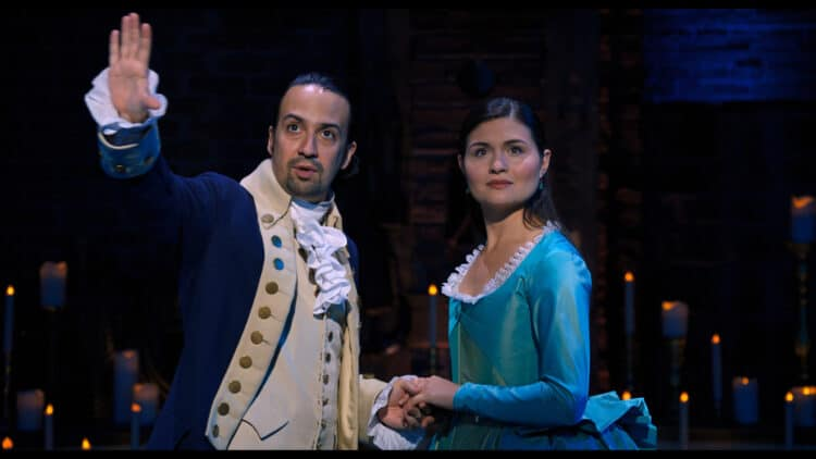 best quotes from hamilton the movie on Disney plus
