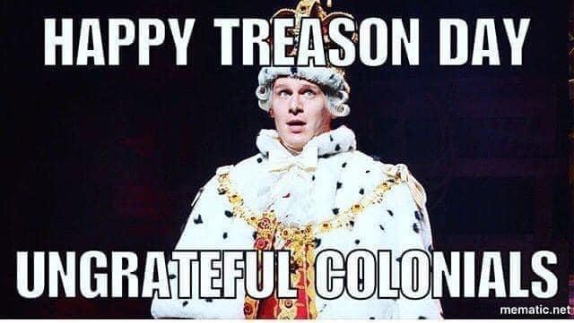 treason day hamilton meme