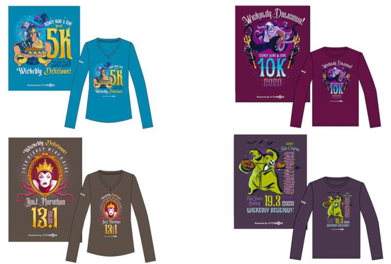 2020 wine and dine race shirts