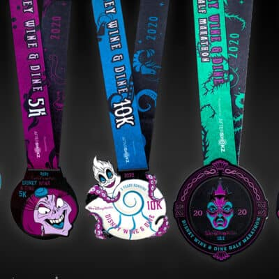 runDisney Virtual 2020 Wine And Dine Medals