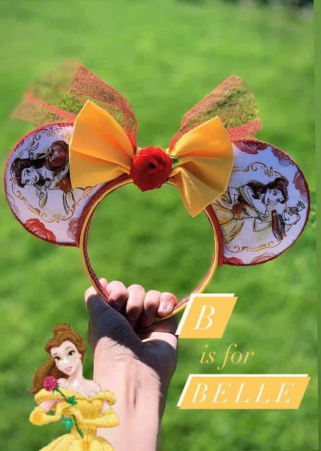 Disney alphabet ears